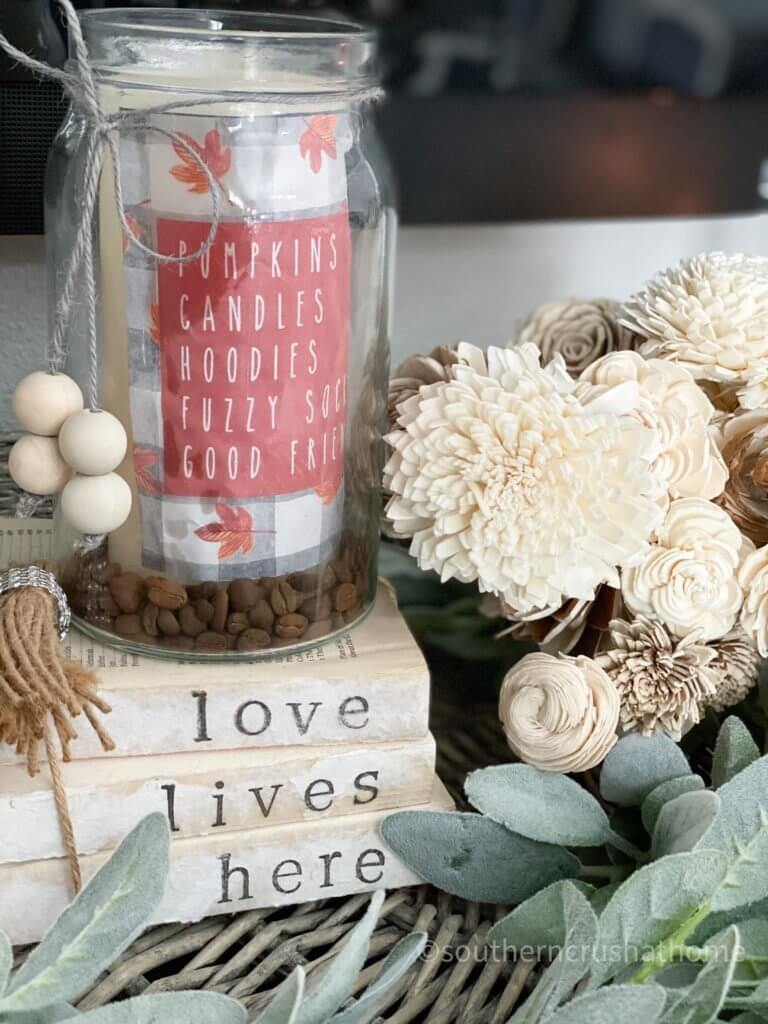 friendsgiving printable diy styled