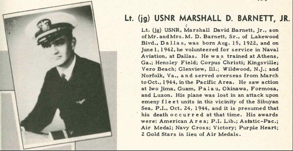 Marshall D. Barnett, Jr. photo