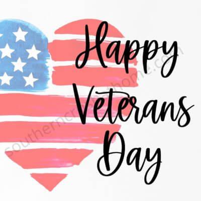 Veterans Day Celebration + FREE Printable