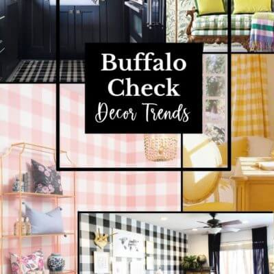 Buffalo Check Decor Trend