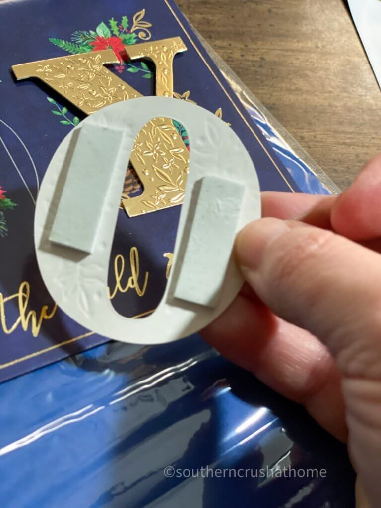 3-d lettering mounting tape