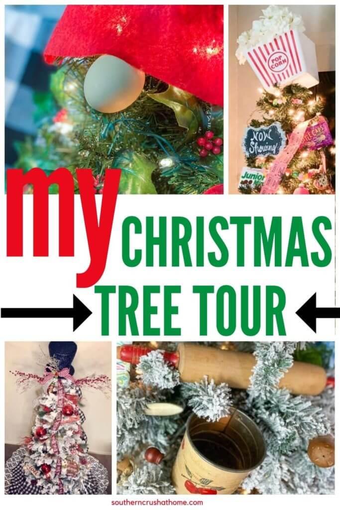 christmas tree tour pin