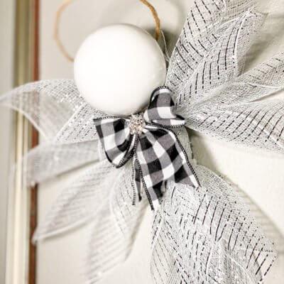 How to Make a Deco Mesh Christmas Angel Craft + Name Contest