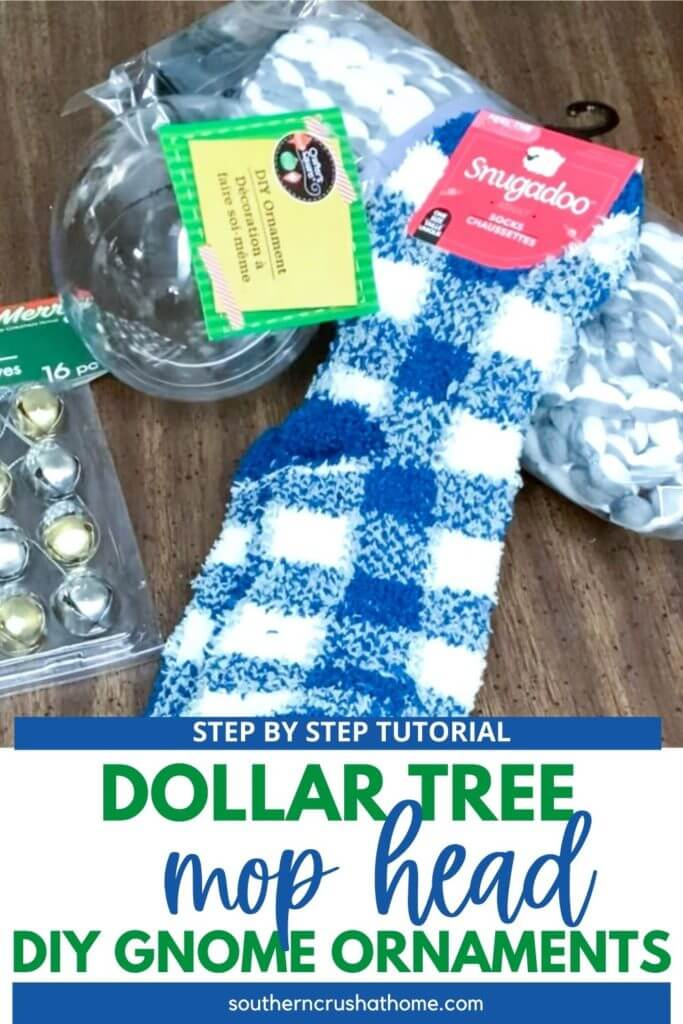 DIY Gnome Ornament supplies pin