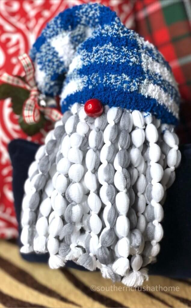 angle of gnome ornament