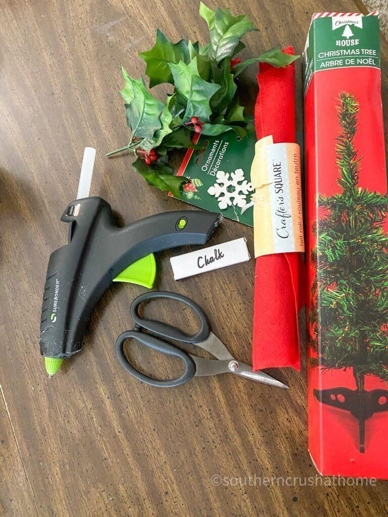GNOME DIY Christmas Tree Supplies