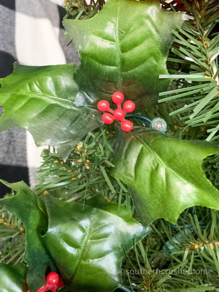 faux holly