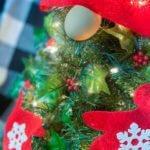 GNOME DIY Christmas Tree close up