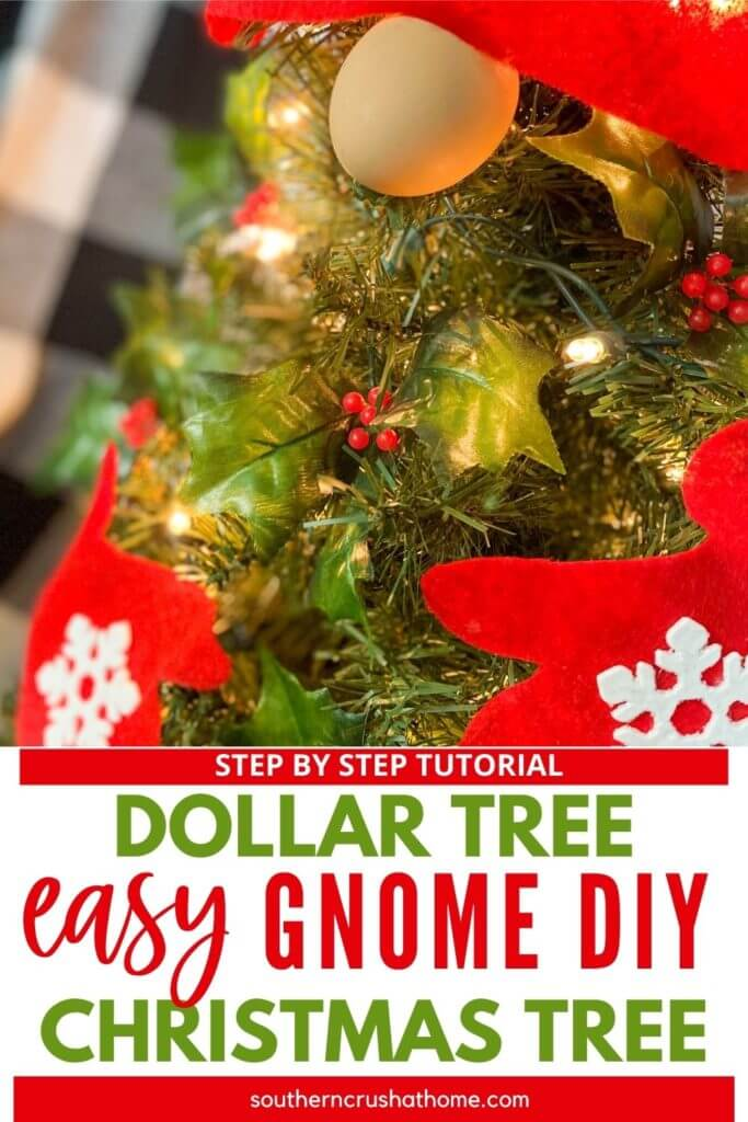 Gnome Diy Christmas Tree Free Pattern Diy Home Decorating