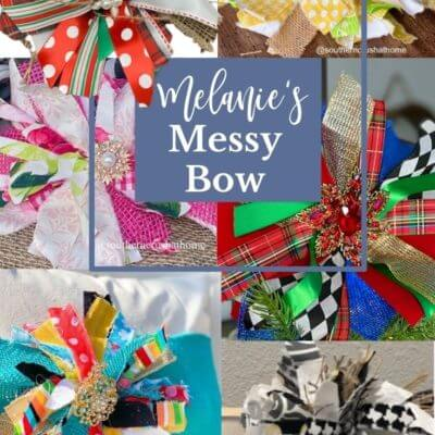 Melanie's 'Messy' Bow is Named DIY Bow of the Year 2020