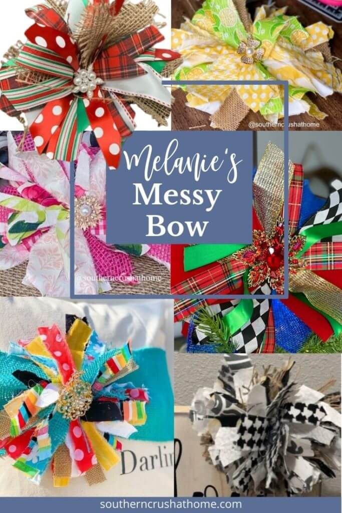 Melanie's Messy Bow of the year easy to make