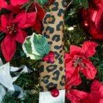 final leopard gnome paint brush ornament