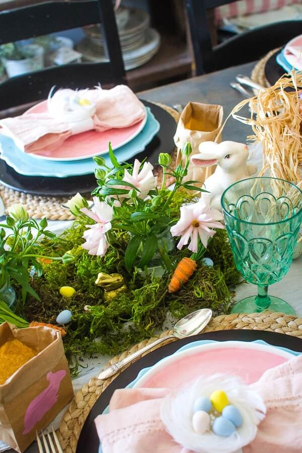 Easter Tablescape The Kids Will Love