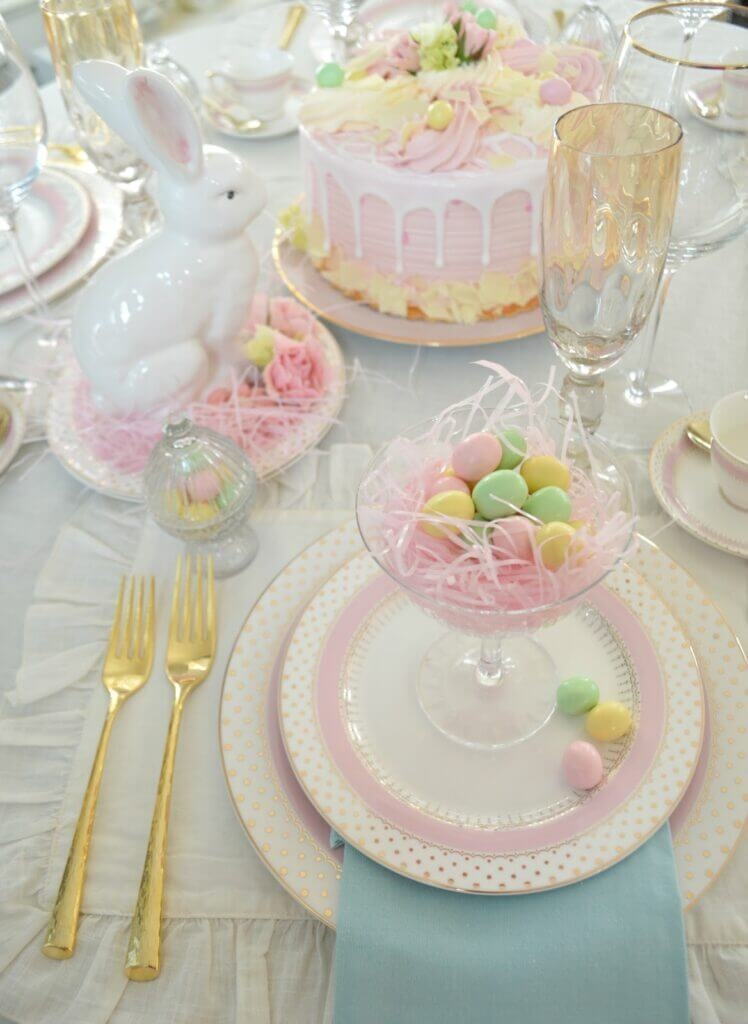 Pastel Tablescape for Easter