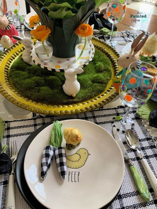 Peep Easter Tablescape