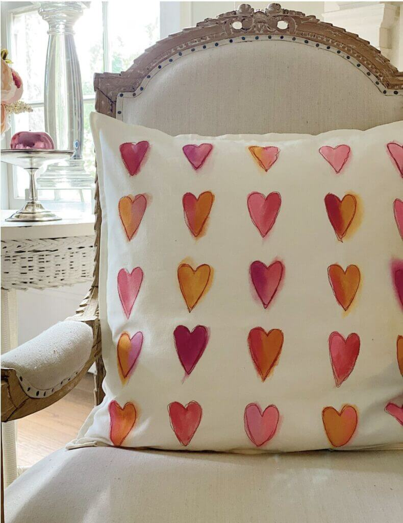 Valentines Heart Pillow