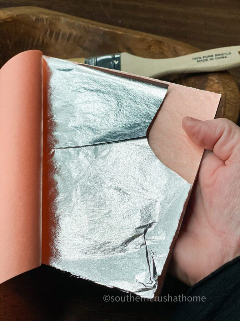 silver leaf foil