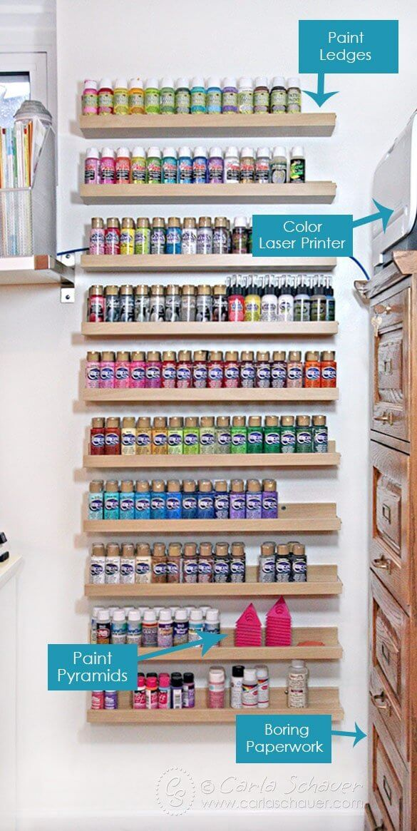 Acrylic-paint-storage-labeled