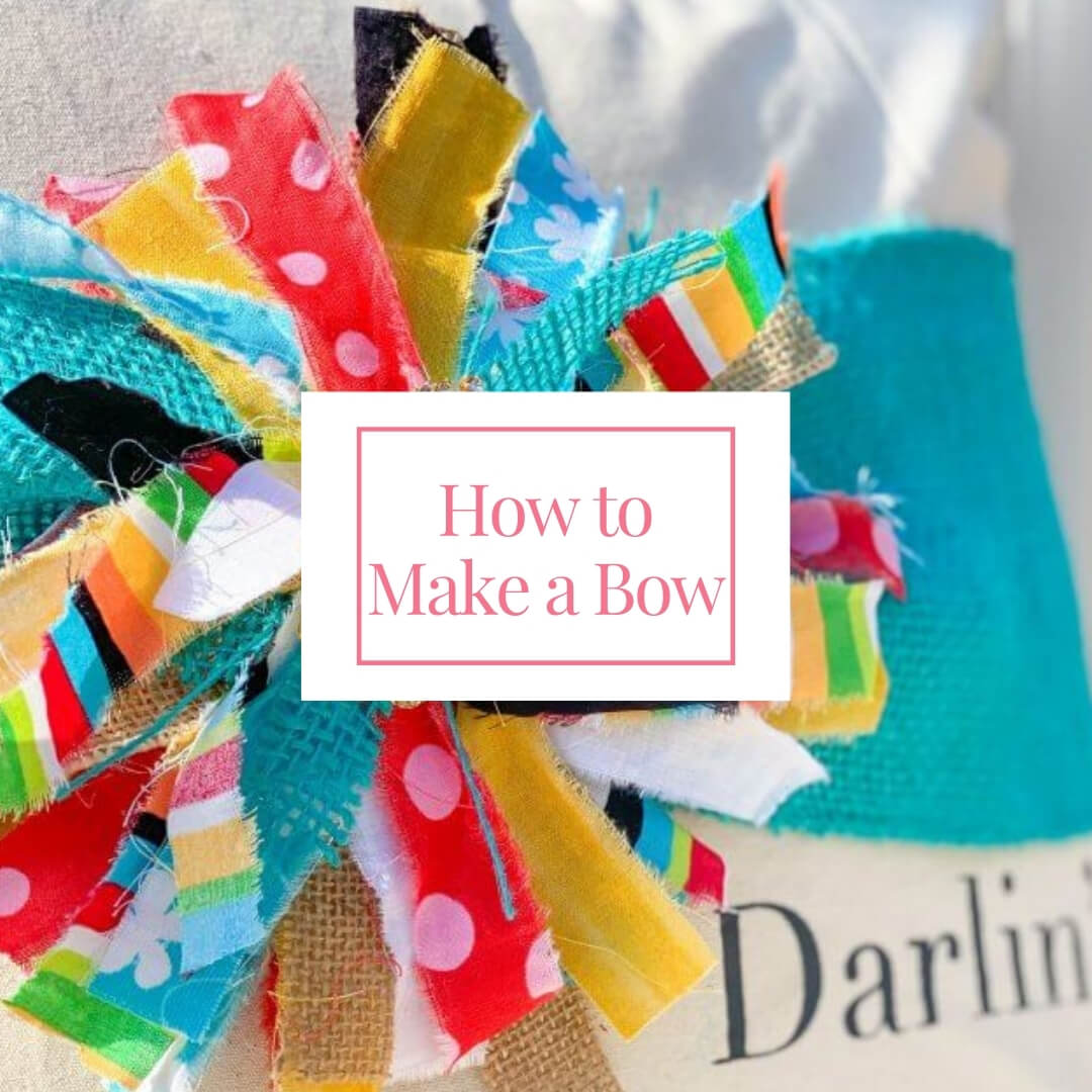 how to make a bow image