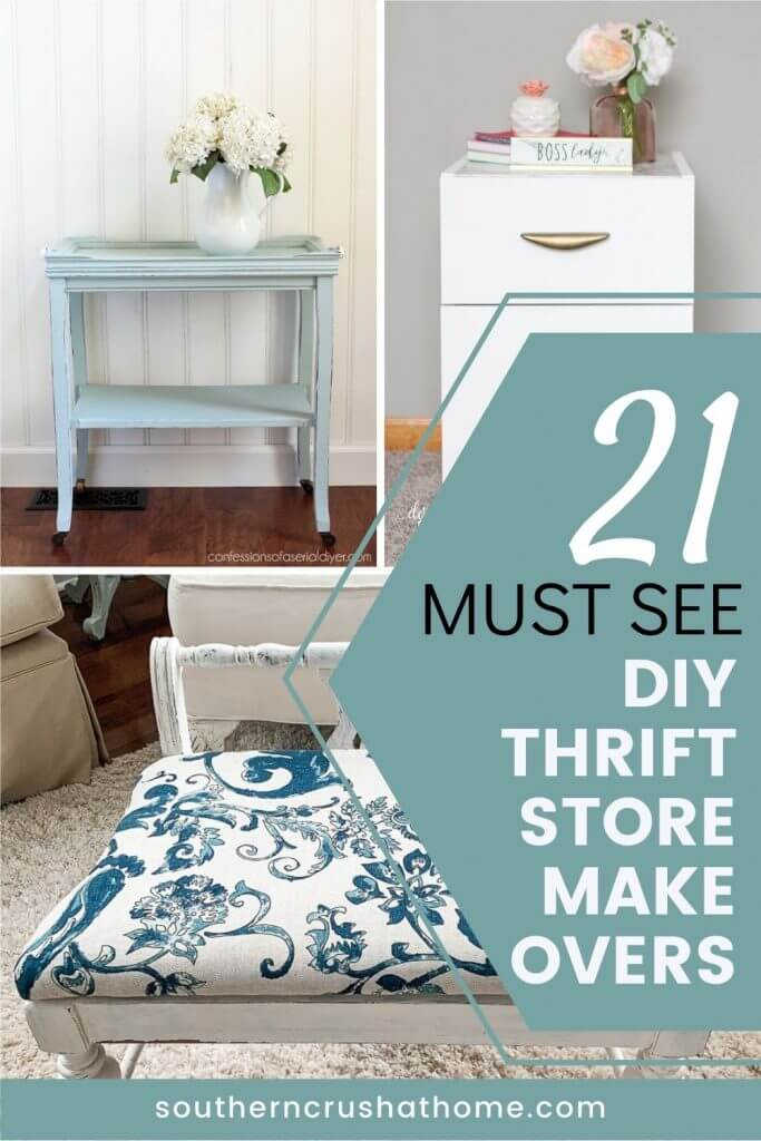 21 must see diy thrift store makeovers