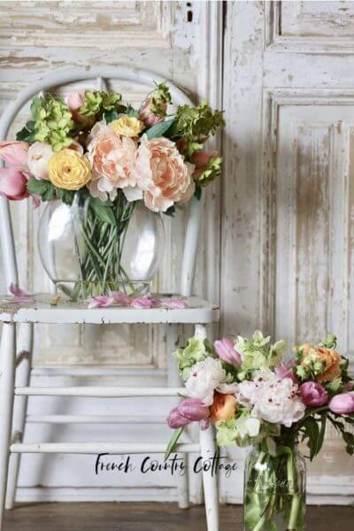 french country cottage florals