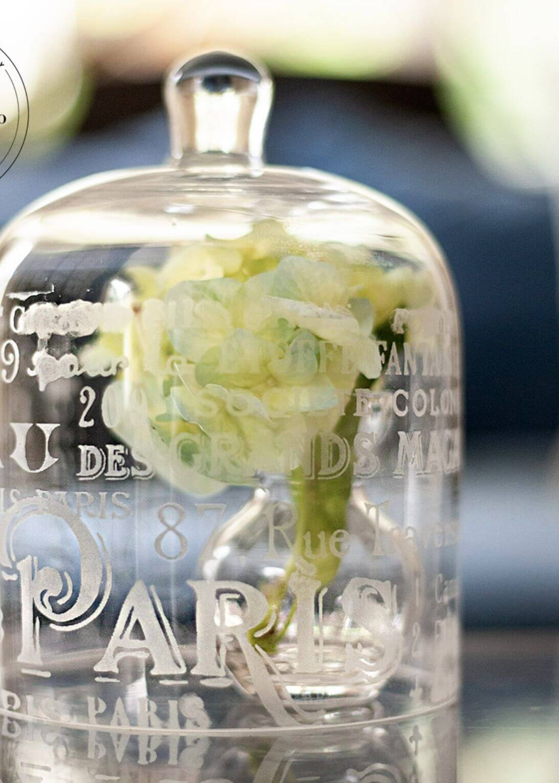 glass etching cloche