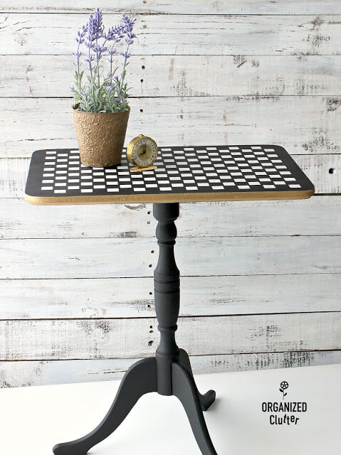 thrift store makeover table