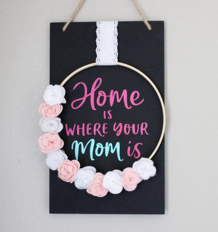 Home-Is-Where-Your-Mom-Is frames sign