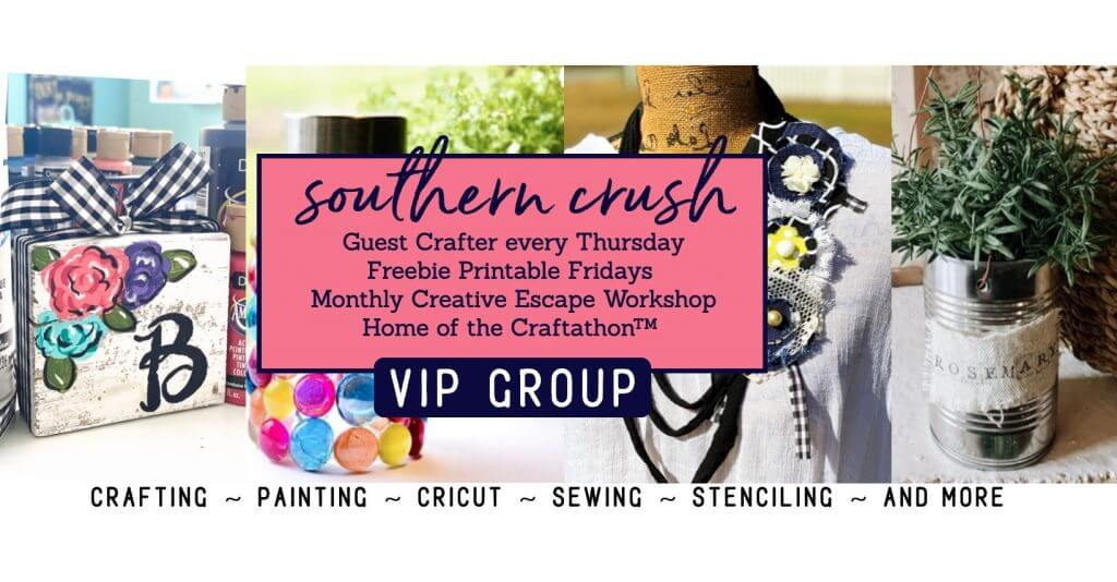Southern Crush Creative Club VIP Group Cover