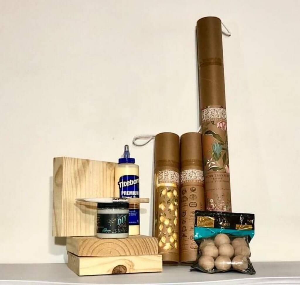 wooden trivet supplies