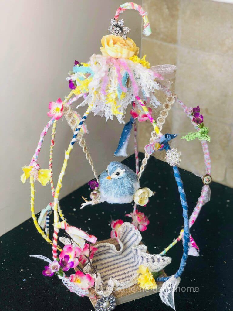 diy birdcage craft final