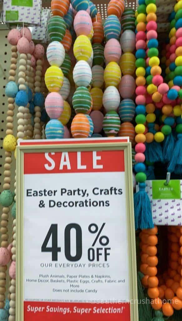 hobby lobby discount sale image