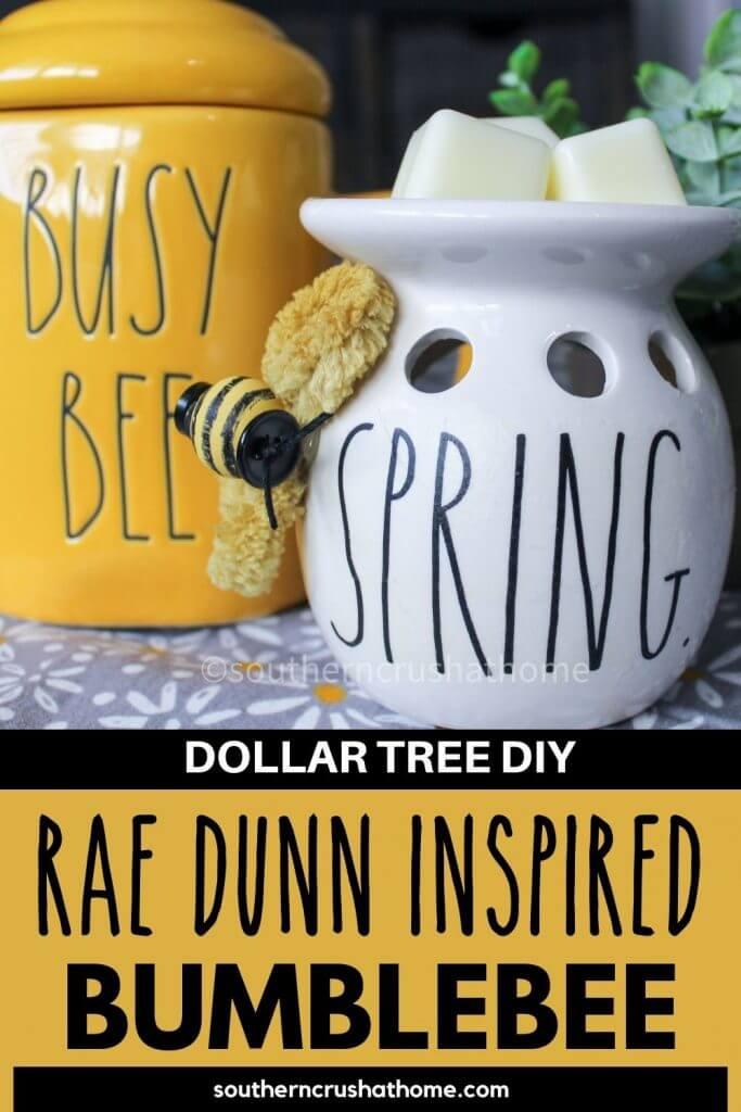 Rae Dunn Inspired Bumblebee wax warmer PIN