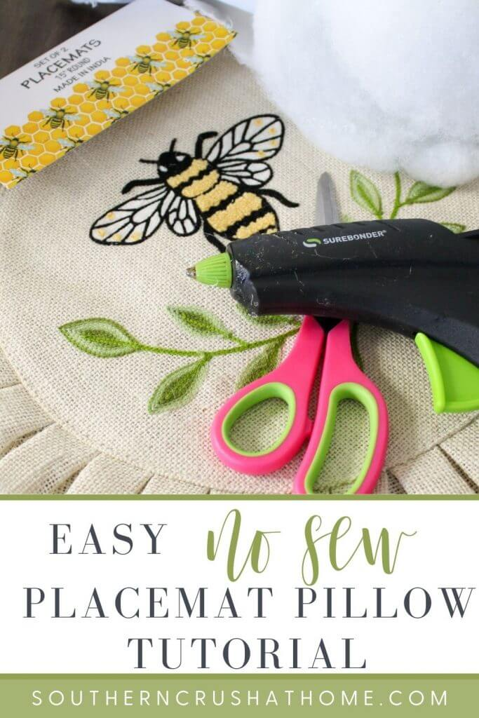 Placemat Pillow PIN supplies only