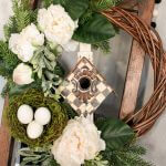 thrift store wreath makeover front