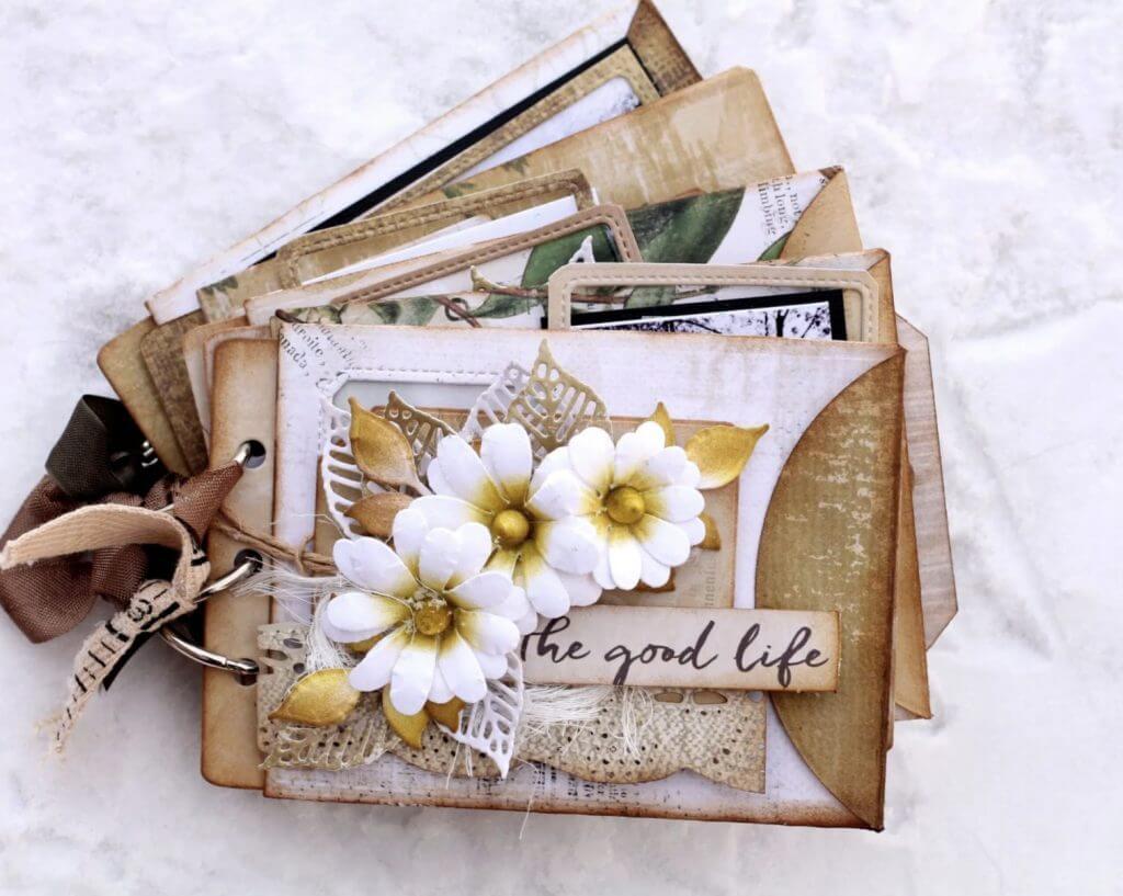 scrapbook seed packet diy