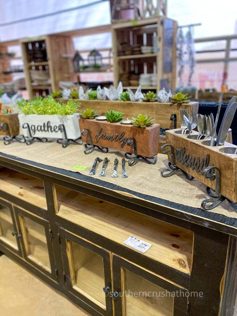 wooden sugar molds with plants