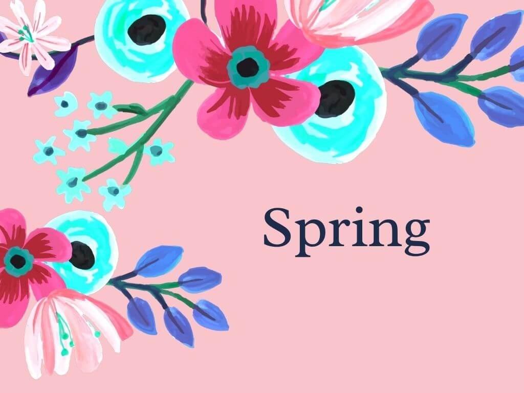 spring blog posts