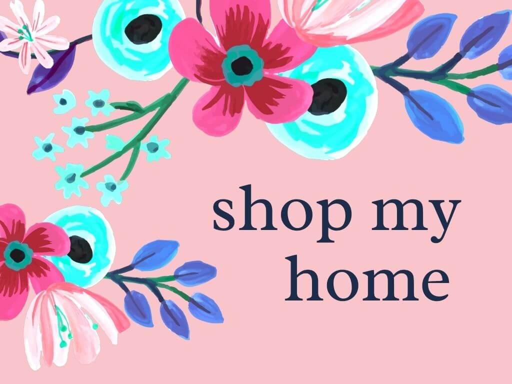 shop my decor