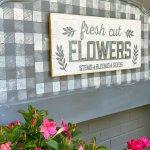 Repurposed Headboard Garden Sign DIY-