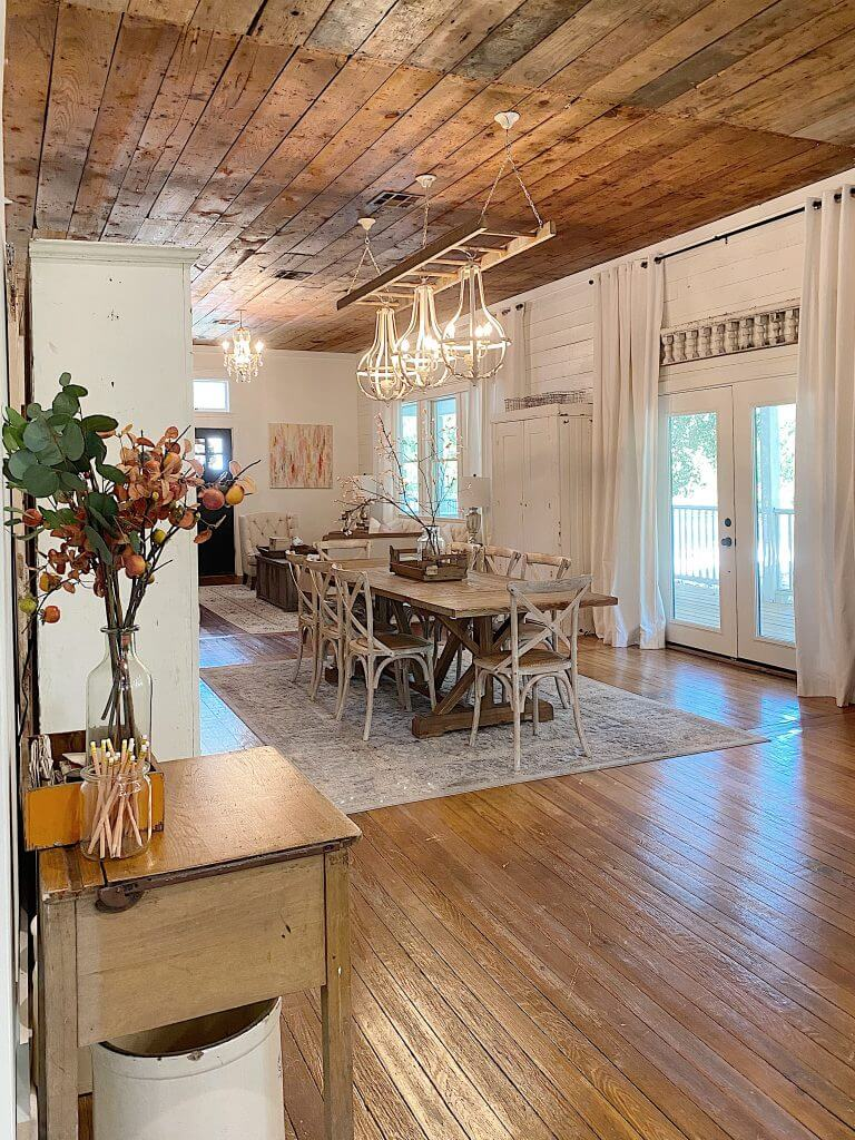 waco Texas home filled with vintage finds