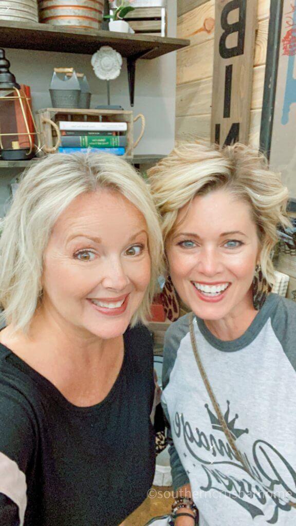 Melanie Ferguson with Kim Jones
