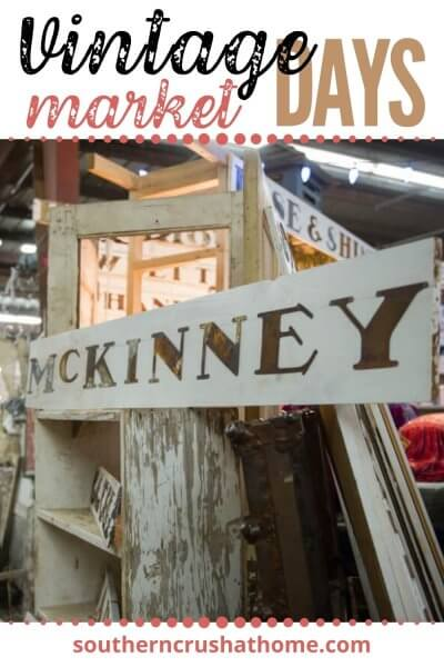 vintage market days of mckinney pin