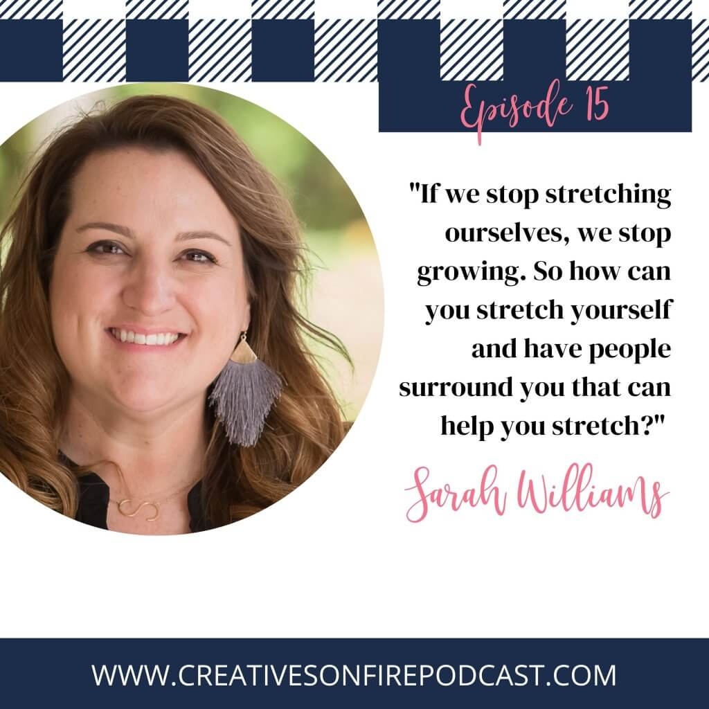 Finding Confidence in Unexpected Places with Sarah Williams