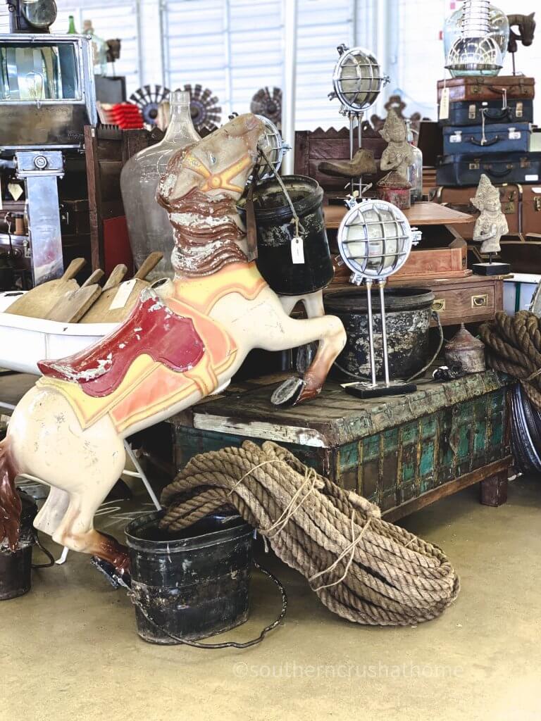 vintage items carousel horse
