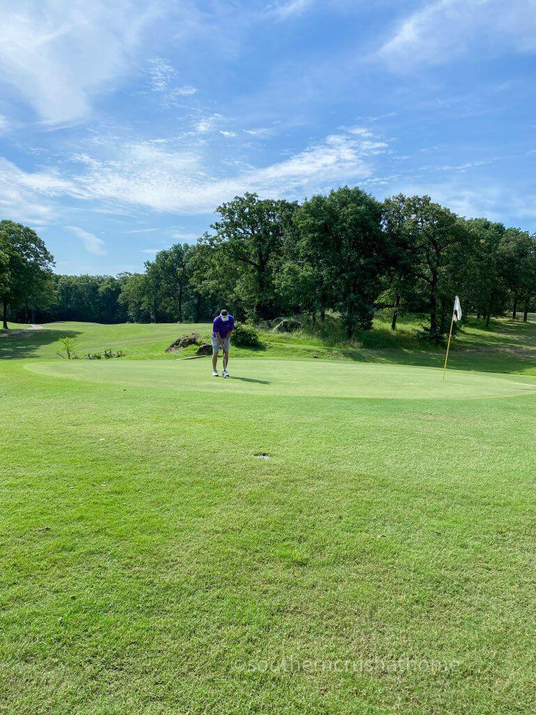 greens at lake murray golf course