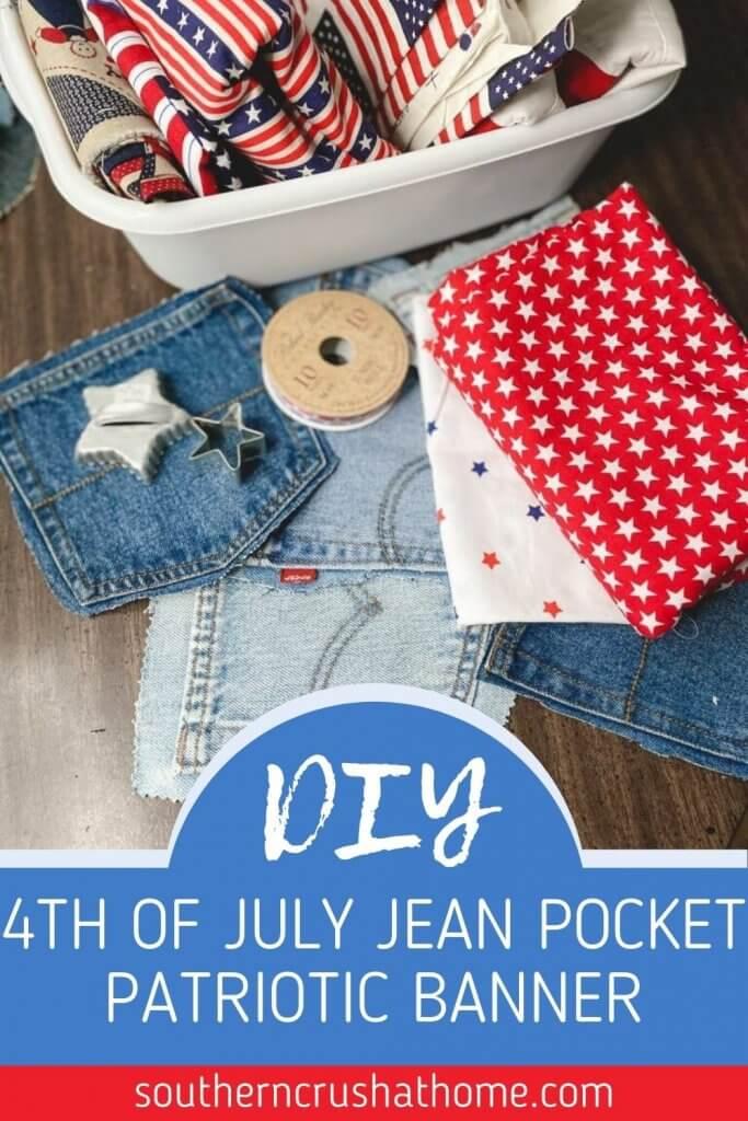 diy jean banner pin image