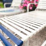 repaired patio furniture