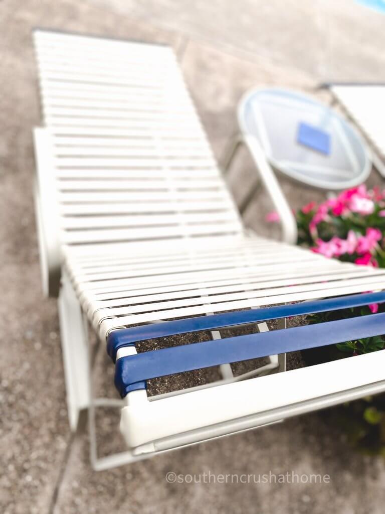 close up patio furniture