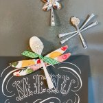 set of 3 dragonfly plastic spoon crafts